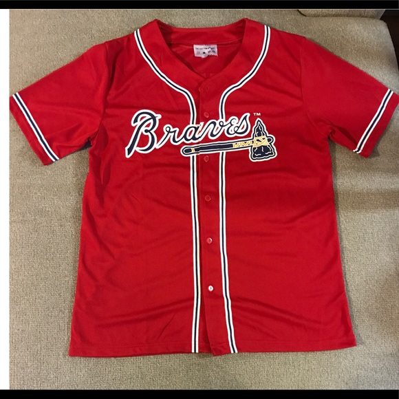 Chipper Jones Atlanta Braves Baseball Player Jersey